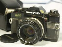 ' 40 ' Olympus  OM 40 SLR Camera c/w 50mm 1.8 Made In Japan Lens Cased  £29.99